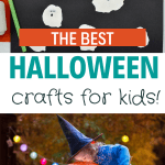 halloween crafts/diy/fun/easy/kids/toddlers/preschool