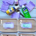 how to make postpartum padsicles