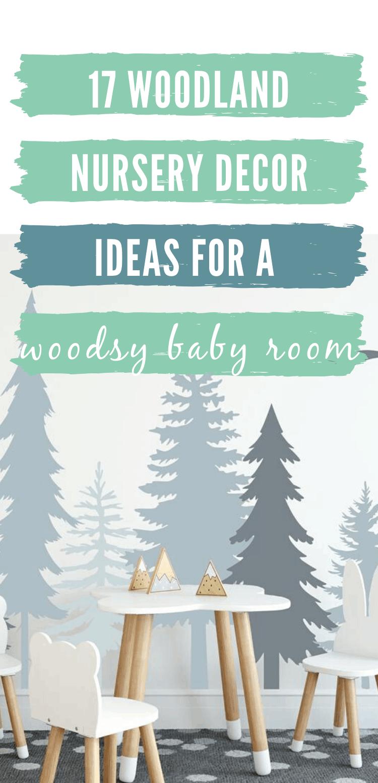 woodland nursery decor/rustic woodland nursery decor