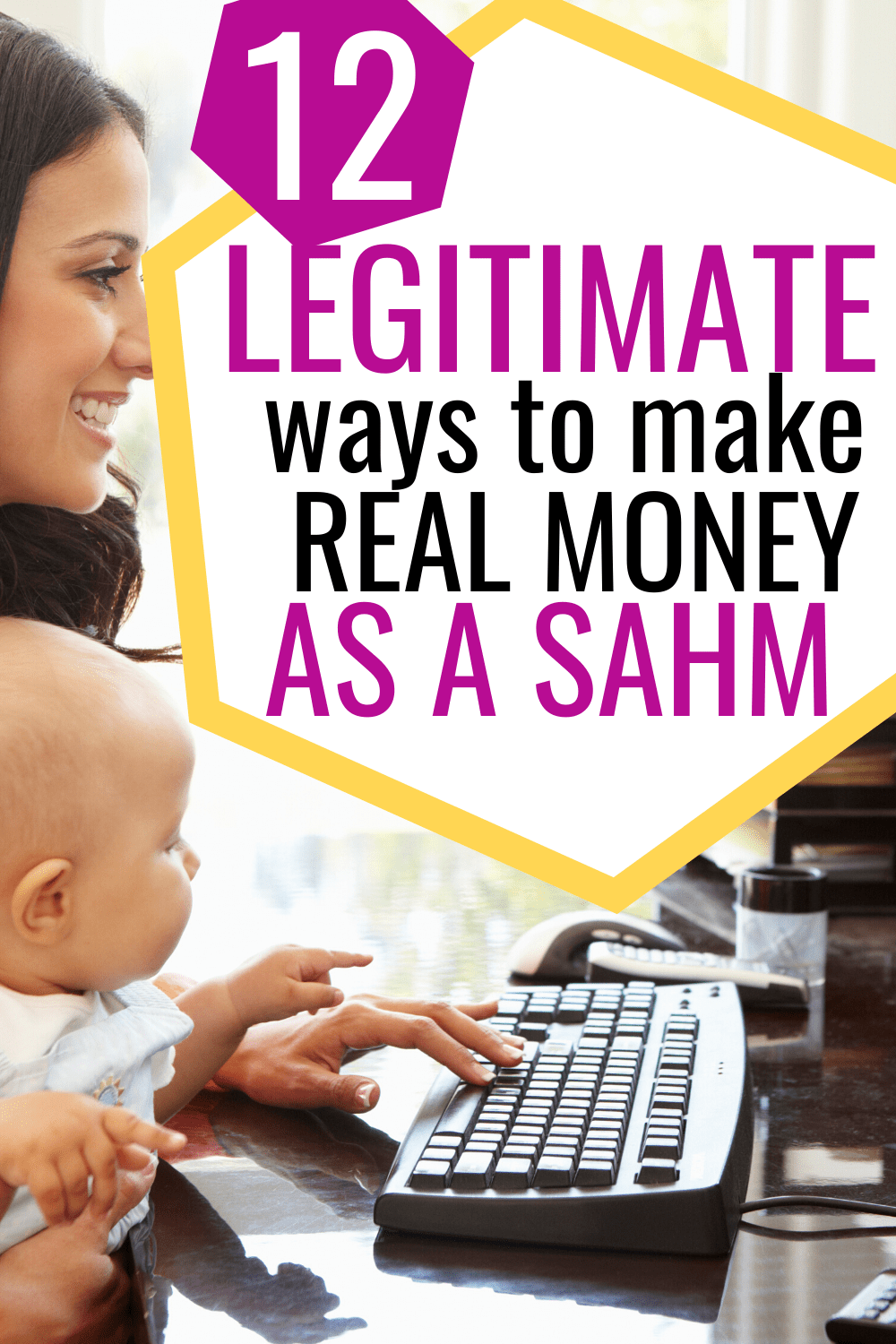 legit jobs for stay at home moms/how to make money as a sahm
