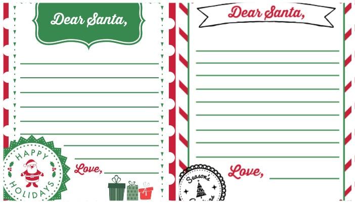 letter to santa template pdf
