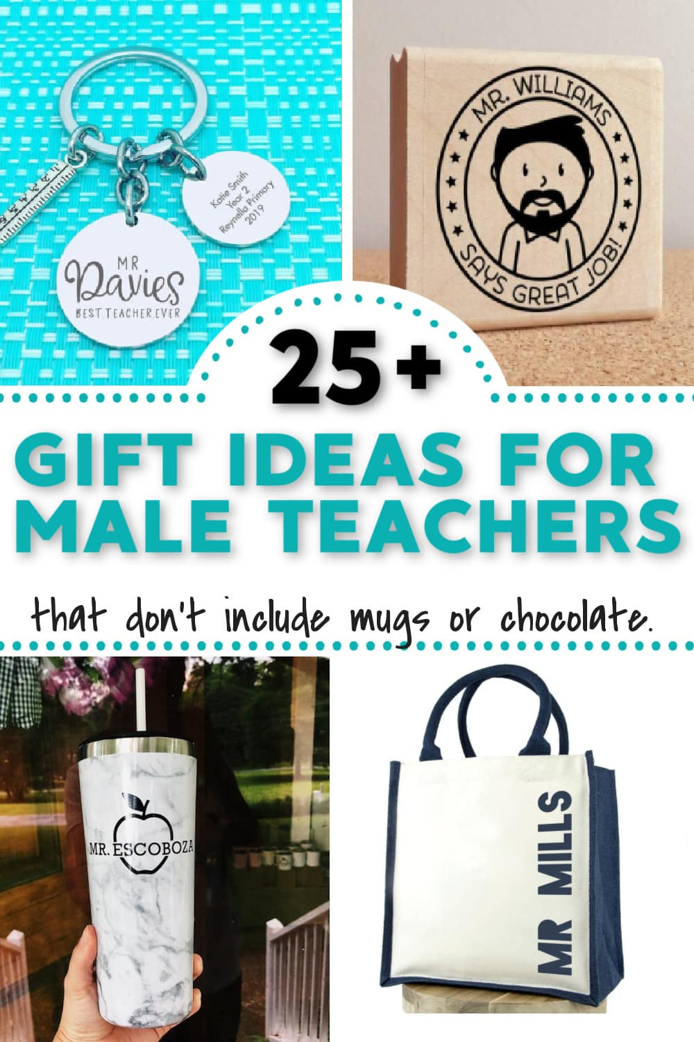 Gift ideas for male teachers from students